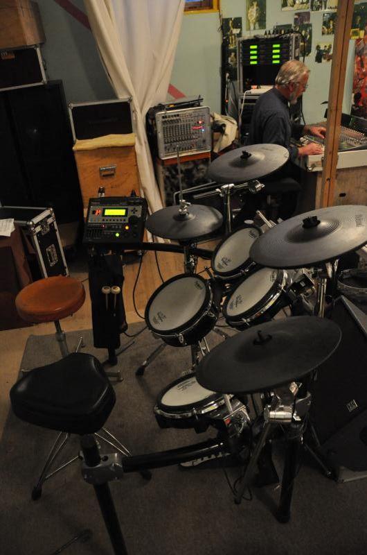 Batterie Rolland V-drums TD12