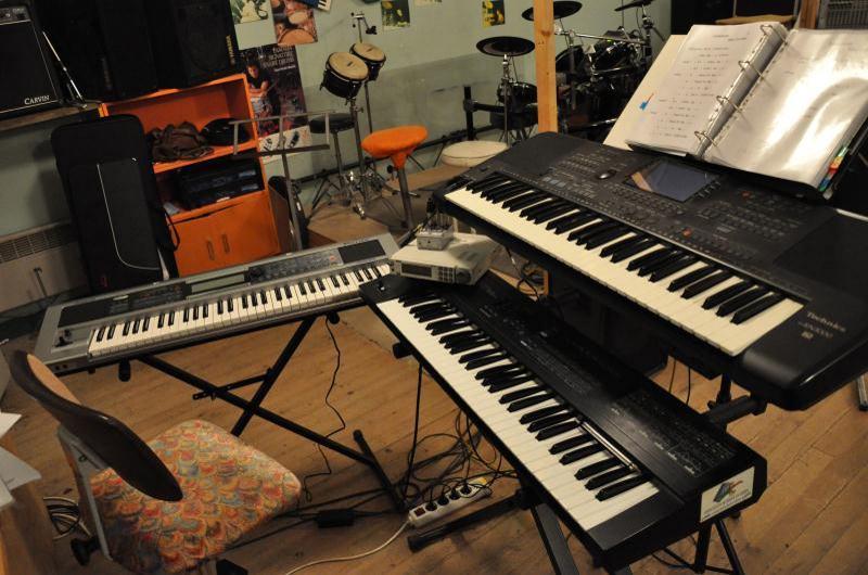 Claviers Technics, Rolland et expandeur Korg
